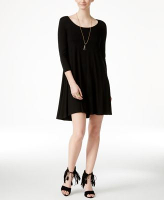 Karen Kane Maggie Three-Quarter-Sleeve Trapeze Dress