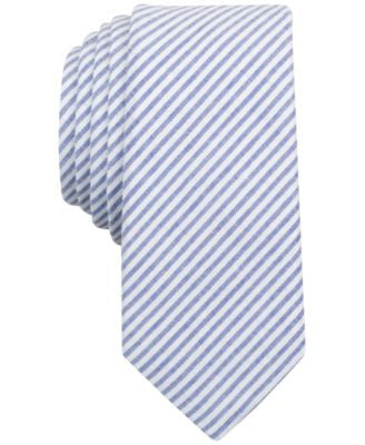 Penguin Men's Trevini Striped Skinny Tie