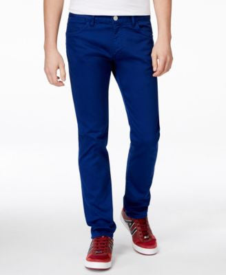 Armani Exchange Men's Garment Dye Slim Fit Pants