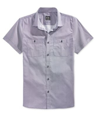 Armani Exchange Men's Mixed Dot Shirt