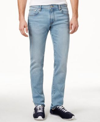 Armani Exchange Men's Slim-Fit Light-Indigo Jeans