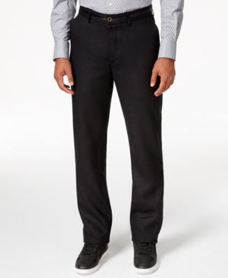 Sean John Men's Black Linen Dress Pants