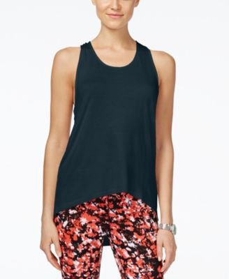 MICHAEL Michael Kors T-Back High-Low Active Tank Top