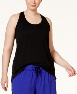Ideology Plus Size T-Back Tank Top, Only at Vogily