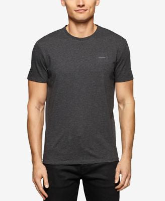 Calvin Klein Men's Big & Tall Short Sleeve Solid Contrast T-Shirt