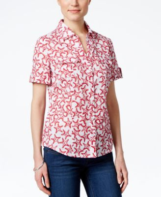 Karen Scott Printed Shirt, Only at Vogily