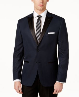 Alfani Satin Lapel Slim-Fit Sport Coat