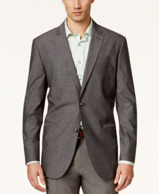 Alfani Men's Chambray Slim-Fit Sport Coat, Only at Vogily