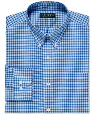 Lauren Ralph Lauren Men's Non-Iron Stansfield Checked Dress Shirt