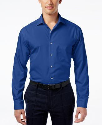 Alfani Men's Fitted Performance Dress Shirt, Only at Vogily