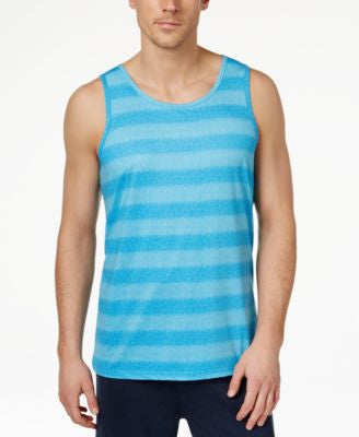 32 Degrees Men's Crew-Neck Striped Tank Top