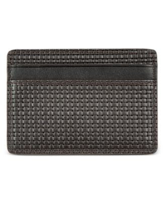 Hugo Boss Men's Signature Credit Card Holder