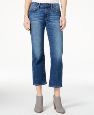 Joe's The Olivia Missie Wash Cropped Flared Jeans