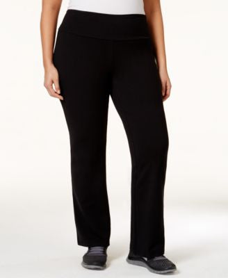Style & Co. Plus Size Tummy-Control Stretch Pants, Only at Vogily