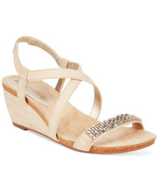 Anne Klein Jasia Wedge Sandals