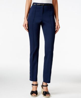 Style & Co. Slim-Fit Belted Pants, Only at Vogily