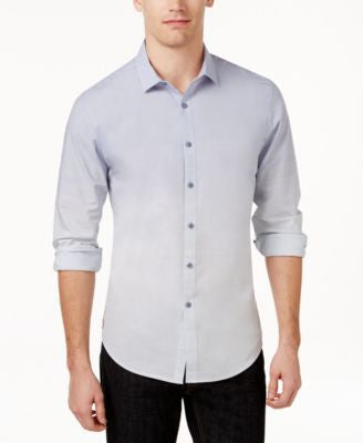 INC International Concepts Men's Long Sleeve Freddie Shirt, Only at Vogily