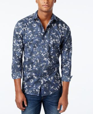 INC International Concepts Men's George Long-Sleeve Shirt, Only at Vogily