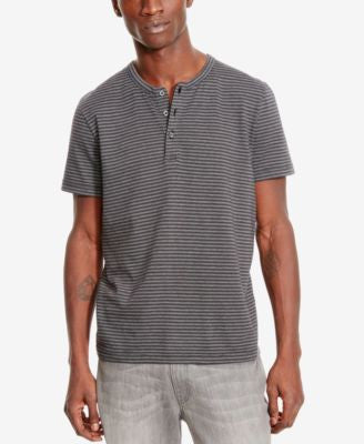 Kenneth Cole Reaction Men's Jacquard Henley