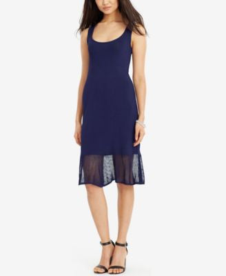 Lauren Ralph Lauren Ruffled-Hem Tank Dress