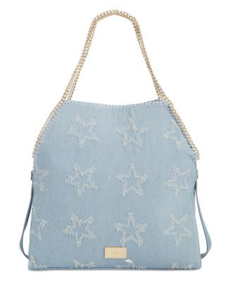 INC International Concepts Kadi Denim Large Tote, Only at Vogily