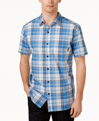 Columbia Men's Thompson Hill Plaid Button-Up Shirt