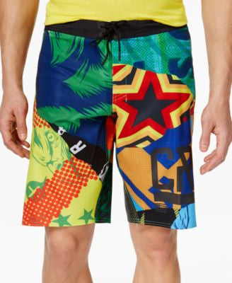 Reebok Men's CrossFit Super Nasty Hero Mix It Up Board Short