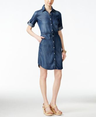 Lee Platinum Denim Oakley Wash Shirtdress