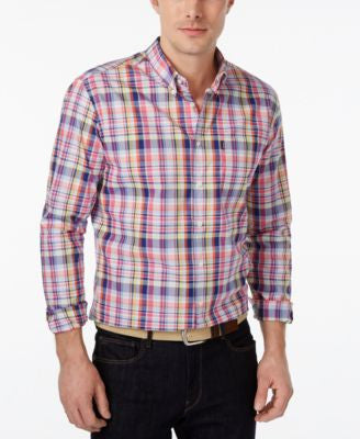 Barbour Men's Douglas Plaid Long-Sleeve Shirt