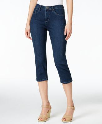 Lee Platinum Harmony Cropped Sapphire Wash Jeans
