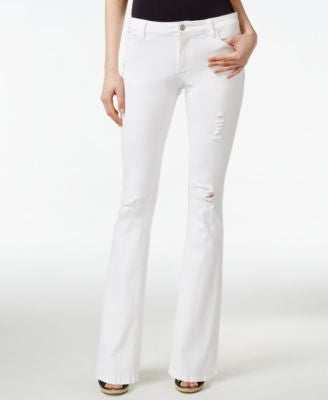 Nanette by Nanette Lepore Ripped Flare-Leg Jeans, Only at Vogily