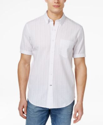 Club Room Big and Tall Men's Newton Button-Down Short-Sleeve Shirt, Only at Vogily