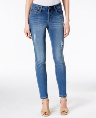 Earl Jeans Medium Wash Ankle Skinny Jeans