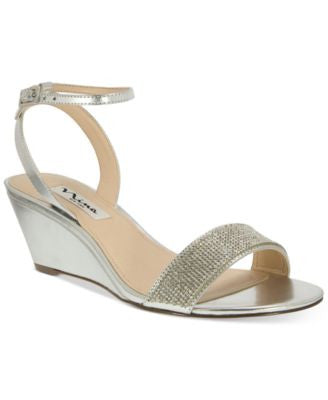 Nina Novia Evening Wedge Sandals