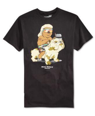 Neff Men's Deal With It Graphic-Print T-Shirt