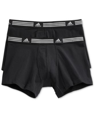 adidas 2-Pk. Men's Stretch Trunks