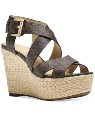 MICHAEL Michael Kors Celia Mid Wedge Sandals