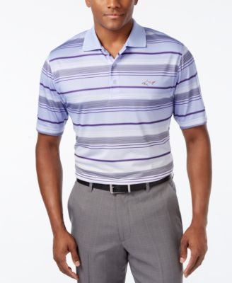Greg Norman for Tasso Elba Men's Striped Golf Polo