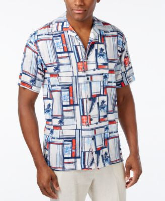 Newport Blue Men's Big and Tall Staycation Shirt