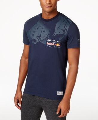 Puma Men's Red Bull Racing Graphic T-Shirt