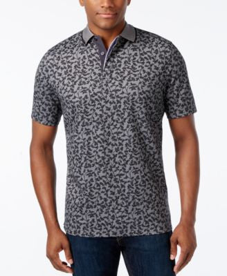 Tasso Elba Men's Print Polo, Only at Vogily