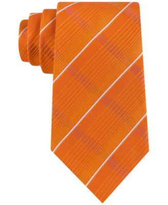 Sean John Men's Linear-Stripe Classic Tie