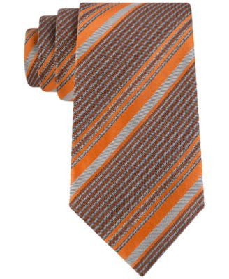 Sean John Men's Multicolor Striped Classic Tie