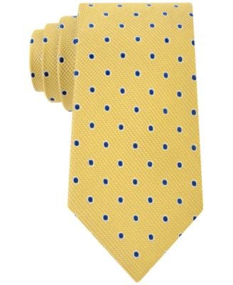 Club Room Men's Drifters Dot-Pattern Classic Tie, Only at Vogily