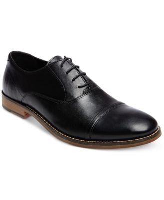 Steve Madden Men's Finnch Textured Oxfords