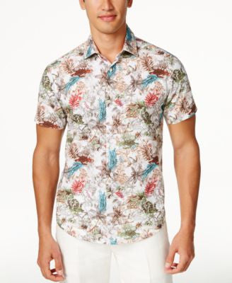 Tallia Men's Short Sleeve Shirt, Only at Vogily