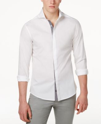 Vince Camuto Men's Button-Front Sport Shirt