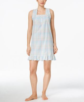 Miss Elaine Ruffle-Trimmed Nightgown