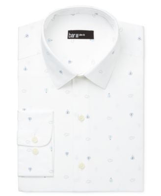 Bar III Men's Slim-Fit Hot Air Balloon Dress Shirt, Only at Vogily