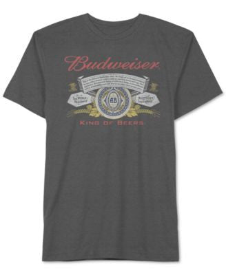 Jem Men's Budweiser Label Graphic-Print T-Shirt